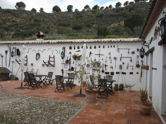 Hotel Hacienda Puerto de las Muelas:                   Binnenplaats