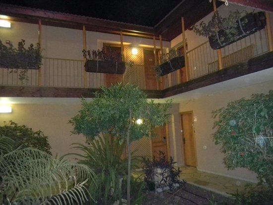 Hagoshrim Hotel & Nature: patio de la  habitacion