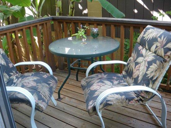 Maui Homestay B&B: Our private lanai