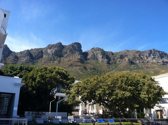 The Twelve Apostles Hotel and Spa:                   Twelve Apostles from hotel veranda