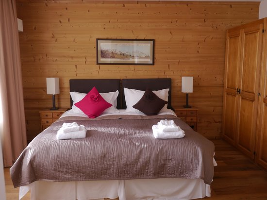 Chalet Balthazar:                                                       Master bedroom