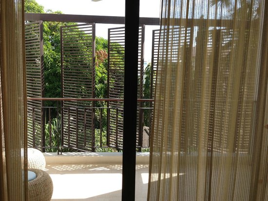 The Lapa Hua Hin Hotel:                   Our terasse