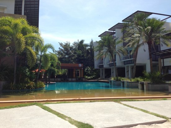 The Lapa Hua Hin Hotel:                   The pool area