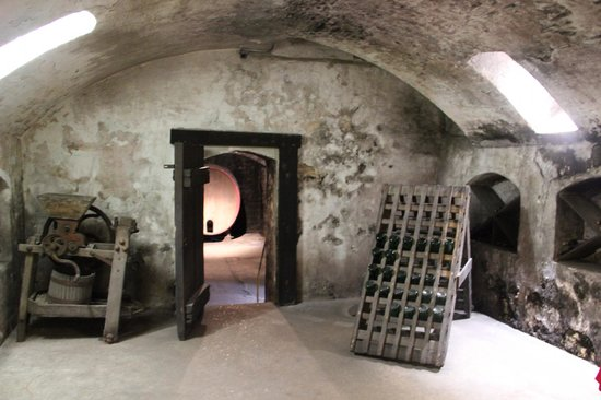 Stone Hill Winery - Wine cellar tour