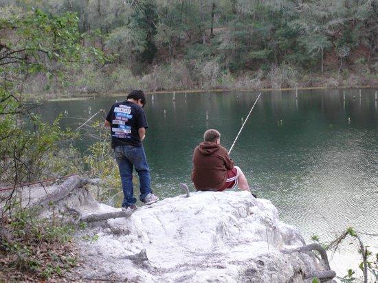 Mutual Mine Recreation Area :                                     Great fishing