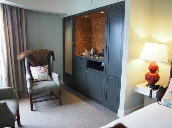Auberge Saint-Antoine: Chambre de luxe vue sur le fleuve