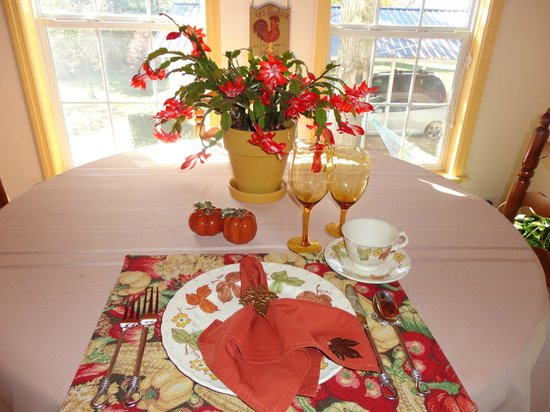 Chestnut Inn: Place Setting