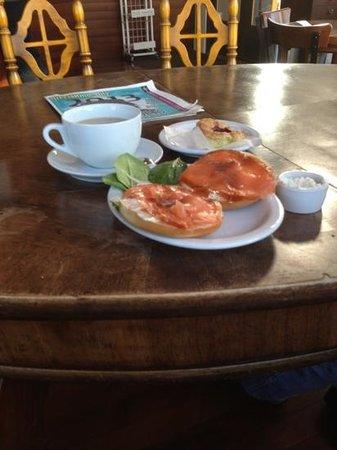 Street 14 Cafe:                   Bagel with Josephson's Lox!