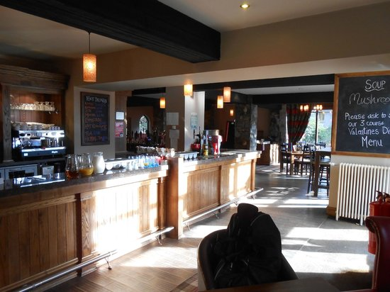 The Old Mill Inn:                   The Bar Area