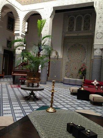 Riad Fes - Relais & Chateaux: Sala lounge