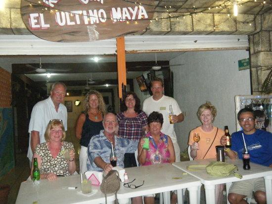 El Ultimo Maya :                   Awesome food and service