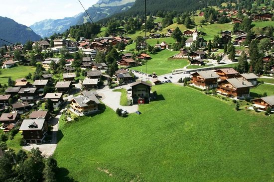 Grindelwald, Sveits: view from the top