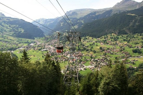 Grindelwald, Sveits: Going up
