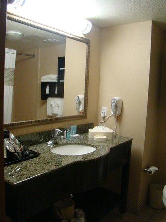 Hampton Inn & Suites Bakersfield/Hwy 58:                   Baño, los productos de higiene muy buenos.