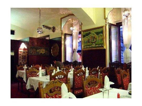 Rani: inside the restaurant