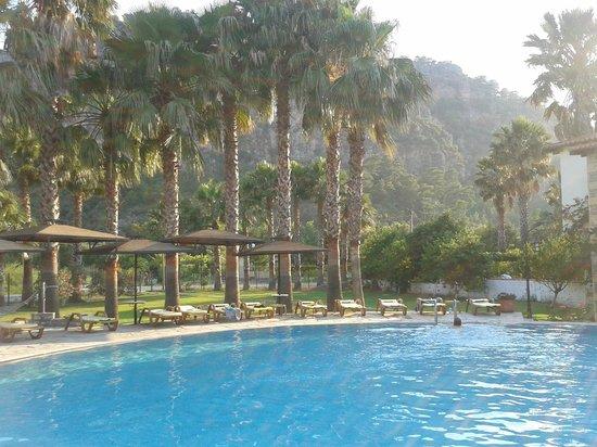 The Osmanli Hani:                   dağın eteğinde havuz keyfi