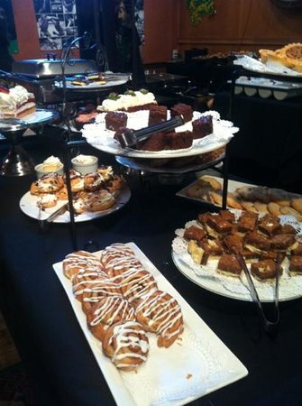 Jolly Coachman:                   dessert goodies