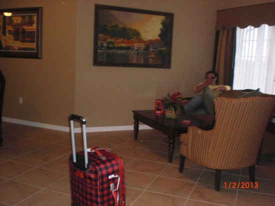 WorldQuest Orlando Resort:                   Sala de estar