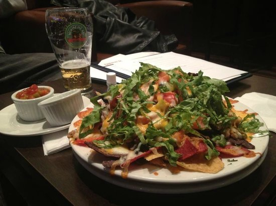 Four Points by Sheraton Toronto Mississauga:                   nacho plate