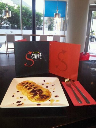 Saint Cafe Bar:                                     Great Presentation