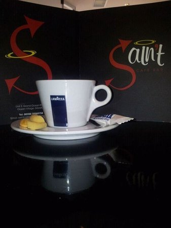 Saint Cafe Bar:                                     Lavazza Coffee