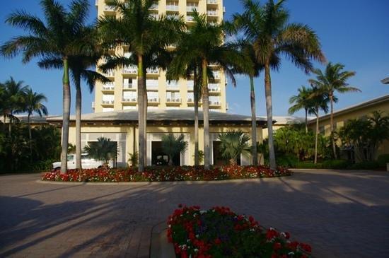 Hyatt Regency Coconut Point Resort and Spa:                   Front entrance area