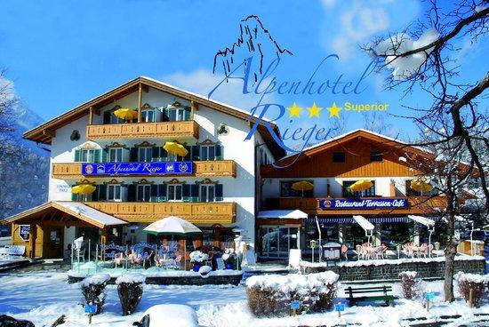 Alpenhotel Rieger: Vorderansicht