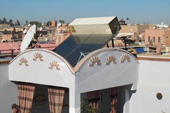 Riad ABHAR : everythign is solar powered!