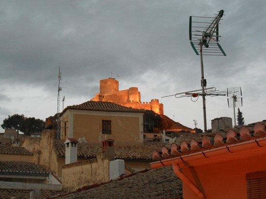 Hotel Villa de Biar: View from window