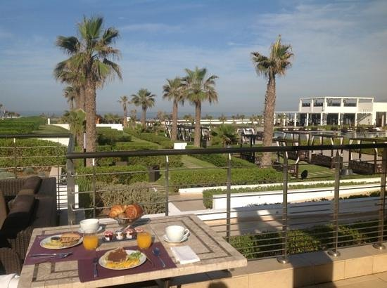 Sofitel Agadir Thalassa Sea & Spa:                   petit dejeuner...