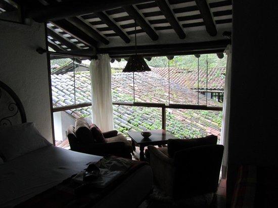 Inkaterra Machu Picchu Pueblo Hotel:                   Lounge area