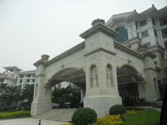 Country Garden Phoenix Hotel Taishan : Entrance to the Hotel Phoenix
