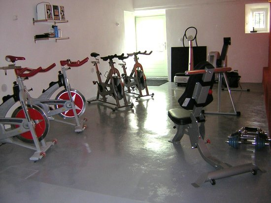 Libelloup: our fitness with spinbikes and indoor rower