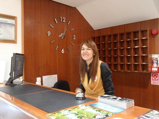 Hotel Villa de Biar: Reception