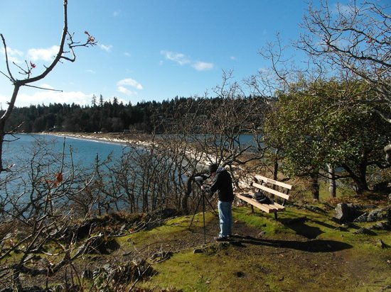 Pipers Lagoon Park:                   Pipers Lagoon's isthmus