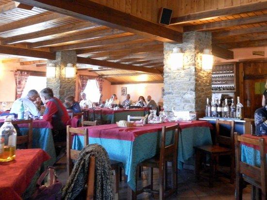 Albergo Ristorante Notre Maison: Sala ristorante
