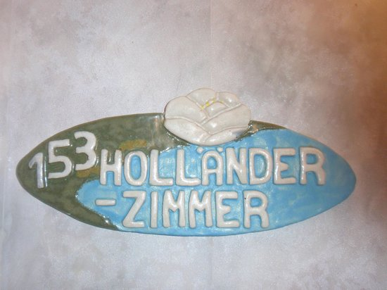 Hotel Saller See: Name of room.