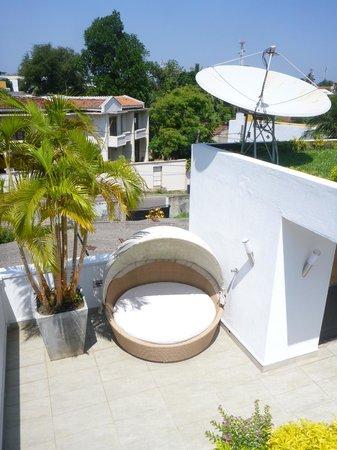 D Villas :                   Terrace view