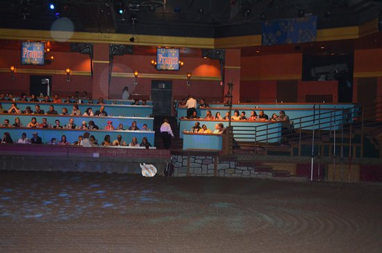 Seating Picture Of Tournament Of Kings Las Vegas