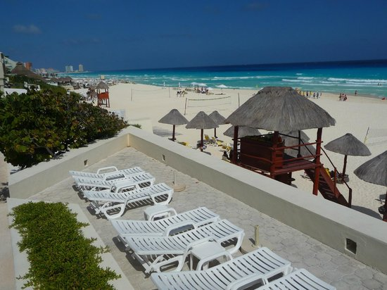 Park Royal Cancun:                   une des terasses