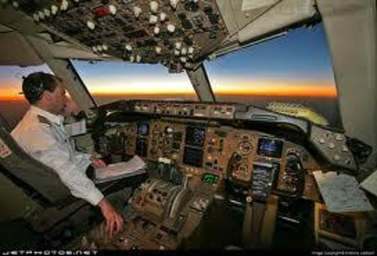 Wingman Adventures: At the controls of a 'commercial airliner'