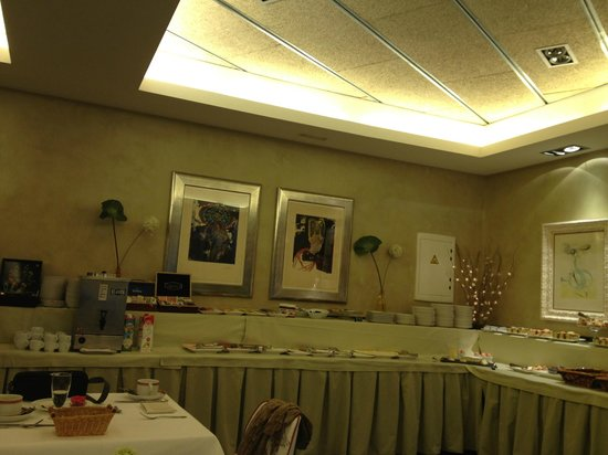 Hotel Duran: Bufe del desayuno