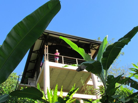 TikiVillas Rainforest Lodge & Spa: Our cabana in the jungle