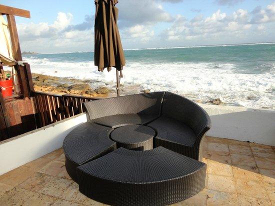 San Juan Beach Hotel:                   pool area...                 