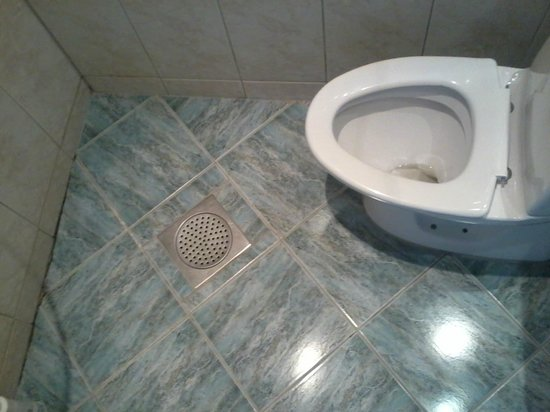 City Apartment Hotel :                   Toilet with no lid