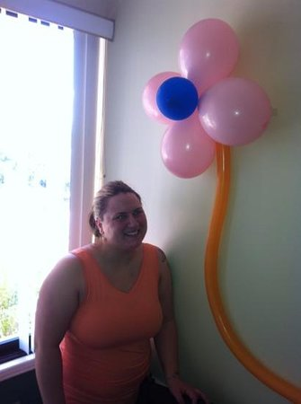 Adventure Inn:                   more congratulatory balloons