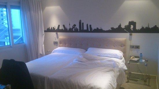 โรงแรมเมอร์เคียว มาดริด ซานโต โดมิงโก:                                     Comfortable bed.
