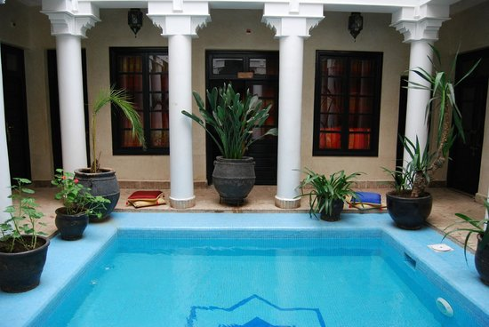 Riad Africa : Our room by the pool