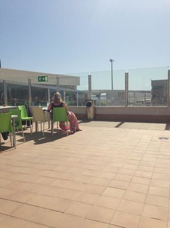 Hotel Arena : the worst part of the holiday. out door bar at the airport!! can't be bad.
