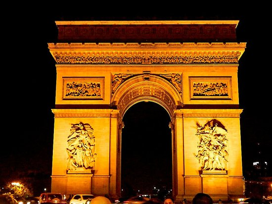 Arco De Triunfo Picture Of Paris Ile De France